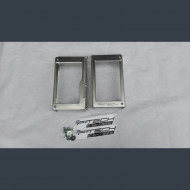 Beta radiator guards rear frame RR250, RR/RS250/300/500 2013-2019 2 strokes and 4 strokes