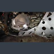 Alumínium oldaldekni védő KTM EXC250 EXC300 Husqvarna TE250 TE300