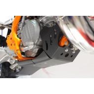 HDPE XTREM 8MM SKID PLATE & LINKAGE GUARD HUSQVARNA KTM TC TX SX XC 250 300 2017 - 2018