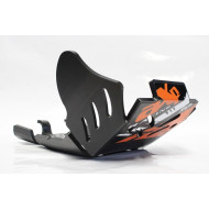 HDPE XTREM 8MM SKID PLATE & LINKAGE GUARD KTM EXCF 250 350 2017 - 2018