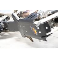 HDPE XTREM 8MM SKID PLATE & LINKAGE GUARD KTM HUSQVARNA SX XC TC TE TX 250 300 2014 - 2016