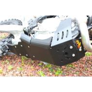 HDPE XTREM 8MM SKID PLATE & LINKAGE GUARD KTM HUSQVARNA SXF XCF FC FX FE 450 501  2016 - 2018