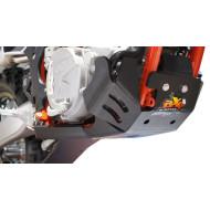 HDPE XTREM 8MM SKID PLATE & LINKAGE GUARD GAS GAS EC 250 300 2018