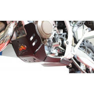 HDPE XTREM 8MM SKID PLATE & LINKAGE GUARD KTM SX XCW 125 2017 - 2018