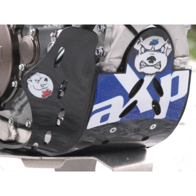 HDPE BLACK-BLUE 6MM SKID PLATE YAMAHA YZ450F 2010 - 2013