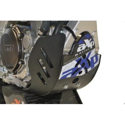 HDPE BLACK-BLUE 6MM SKID PLATE YAMAHA YZ F 250 450 2015 - 2018