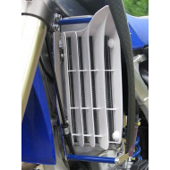 RADIATOR BRACES RED YAMAHA YZ450F  2010 - 2013