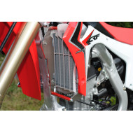 RADIATOR BRACES RED HONDA CRF250R 2014 - 2015