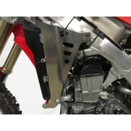 RADIATOR BRACES RED HONDA CRF250R 2018