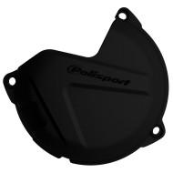 Clutch Cover Guard - Polisport - BLACK - Husqvarna KTM TC TE EXC SX XC XC-W 250 350 300 Sixdays FREERIDE 2013 - 2020