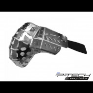 Skid plate with exhaust pipe guard and plastic bottom for Sherco SER 250 300 2014 - 2019