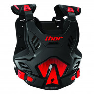 Thor SENTINEL GP S16 ROOST protektor mellény (XL/2XL Fekete/Piros) 2701-0753