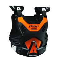 Thor SENTINEL GP S16 ROOST protektor mellény (XL/2XL Fekete/Narancs) 2701-0755