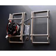 Hűtővédő + VENTILLÁTOR KIT (SPAL) - BETA RR 250 300 2013 – 2018