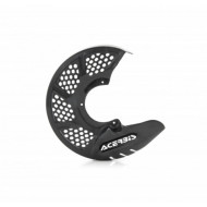 ACERBIS FRONT DISC COVER X-BRAKE VENTED CARBON - GREY AC 0022705.070