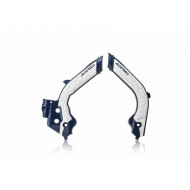 ACERBIS FRAME PROTECTOR X-GRIP HUSQ TC-FC 19-20 (WHITE/BLUE * YELLOW/BLUE * BLACK/GREY * WHITE/BLACK * GREY/BLUE * BLACK/WHITE) AC 0023600.