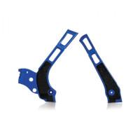 ACERBIS FRAME PROTECTOR X-GRIP YZ + WR 125-250 06/19 (BLUE * SILVER * SILVER/BLUE) AC 0021669.