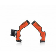 ACERBIS X-GRIP Frameprotector KTM SX 65 14/19 + HVA SX65 15/19 (BLACK * ORANGE * WHITE/BLACK) AC 0022896.