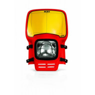 ACERBIS HEADLIGHT ELBA (RED * WHITE) AC 0003020.