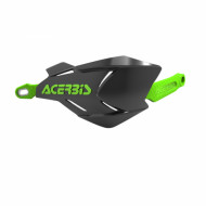 ACERBIS HANDGUARDS X-FACTORY (BLACK/FLUO GREEN * BLACK/GREEN * BLACK/ORANGE * BLACK/WHITE * BLUE/WHITE * GREEN/BLACK * ORANGE/BLACK * ORANGE/WHITE * RED/BLACK * RED/WHITE * WHITE/BLACK * WHITE/BLUE * WHITE/ORANGE * WHITE/RED * WHITE/YELLOW * YEL