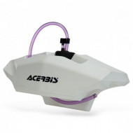 ACERBIS HANDLEBAR FUEL TANKS 2 LITER - WHITE AC 0016462.030.700