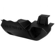 ACERBIS SKID PLATE HONDA CRF250R 04/09 + CRF250X 04/17 (BLACK * SILVER) AC 0011685.