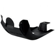 ACERBIS SKID PLATE MX HOND CRF250 10/17 + 450 09/16 (BLACK * SILVER) AC 0013922.