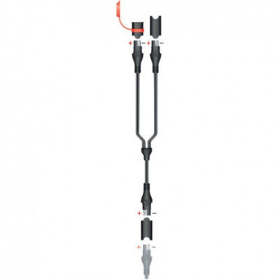 TECMATE CHARGER CABLE BLACK O15