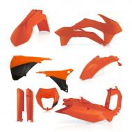 ACERBIS FULL KIT PLASTIC KTM EXC 14-15 (BLACK * ORANGE * STANDARD 14 * STANDARD 15 * WHITE) AC 0017204.
