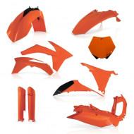 ACERBIS FULL KIT PLASTIC KTM SX 2011 (BLACK * ORANGE * STANDARD 11 * WHITE) AC 0015701.