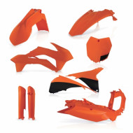 ACERBIS FULL KIT PLASTIC KTM SX/SXF 13-14 (BLACK * ORANGE * STANDARD * WHITE) AC 0016874.