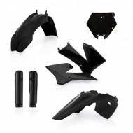 ACERBIS FULL KIT PLASTIC KTM SX85 09-12 (BLACK * STANDARD * WHITE) AC 0016374.