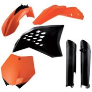 ACERBIS FULL PLASTIC KIT KTM SX-F 07-10 (BLACK * ORANGE * STANDARD * WHITE) AC 0013977.