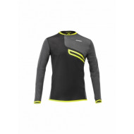 ACERBIS ENDURO-ONE JERSEY - BLACK/FLO YELLOW (S * M * L * XL * XXL * XXXL) AC 0022581.318.