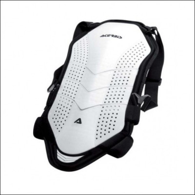 ACERBIS 7 PLATES ROOST DEFLECTOR - WHITE AC 0015991.030