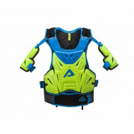 ACERBIS COSMO 2.0 CHEST PROTECTOR (FLO YELLOW/BLUE * BLACK/GREY) ONE SIZE AC 0017180.