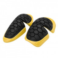 ACERBIS ELBOW PADS HEXA - BLACK/YELLOW - ONE SIZE AC 0016031.318