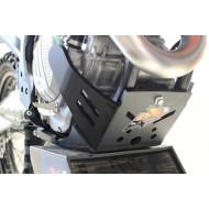 HDPE XTREM 8MM SKID PLATE & LINKAGE GUARD KTM HUSQVARNA 250 350 SX-F XC-F FC FX 2019 AX1502