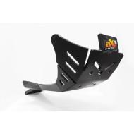 HDPE XTREM 8MM SKID PLATE & LINKAGE GUARD BLACK SHERCO 450SEF FACTORY 500SEF FACTORY 450SEFR 500SEFR 450SCF FACTORY 500SCF FACTORY 2019 AX1513