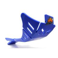 HDPE XTREM 8MM SKID PLATE & LINKAGE GUARD BLUE SHERCO 450SEF FACTORY 500SEF FACTORY 450SEFR 500SEFR 450SCF FACTORY 500SCF FACTORY 2019 AX1514