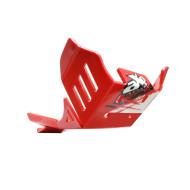 HDPE XTREM 8MM SKID PLATE & LINKAGE GUARD RED BETA 350RR 390RR 430RR 480RR 500RR 2014 - 2019 AX1526