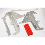 RADIATOR BRACES RED HONDA CRF450X 2005 - 2008 AX3033