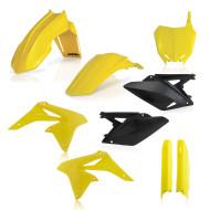 ACERBIS FULL KIT PLASTIC RMZ 250 10-18 (BLACK * FLO YELLOW * STANDARD 11 * STANDARD 13 * STANDARD 14 * STANDARD 17) AC 0013984.