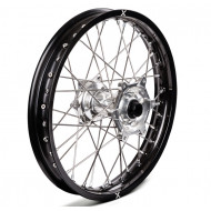 "X-GRIP Wheel rear 18"" x 2,15"" (rear), KTM, Husqvarna, Beta RR BLACK/SILVER XG-1799"