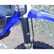 PRO-CARBON RACING Yamaha Upper Fork Protectors - YZ125 to 450 All years