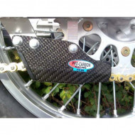 PRO-CARBON RACING Honda Chain Guide - CR85