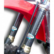 PRO-CARBON RACING Honda Upper Fork Protectors - CRF 250/450 All years