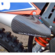 PRO-CARBON RACING KTM Silencer Protector - SX-F 2004-06 .... EXC-F 2004-07