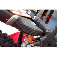 PRO-CARBON RACING KTM Silencer Protector - SX-F 450 2007-10 .... EXC-F 450-530 2008-11