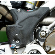 PRO-CARBON RACING Kawasaki Frame Protection - KX250 2005-09